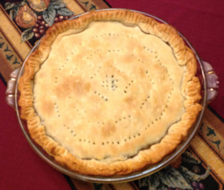 Escarole Pie is an Easy-to-make Rustic Peasant Dish