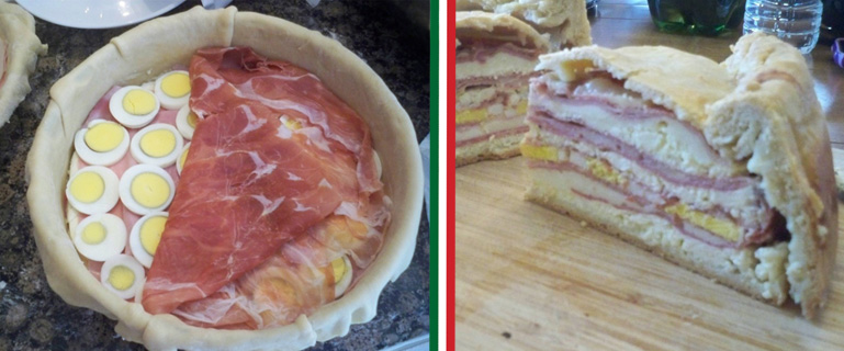 Pizza Rustica, also known as Italian Easter Pie.